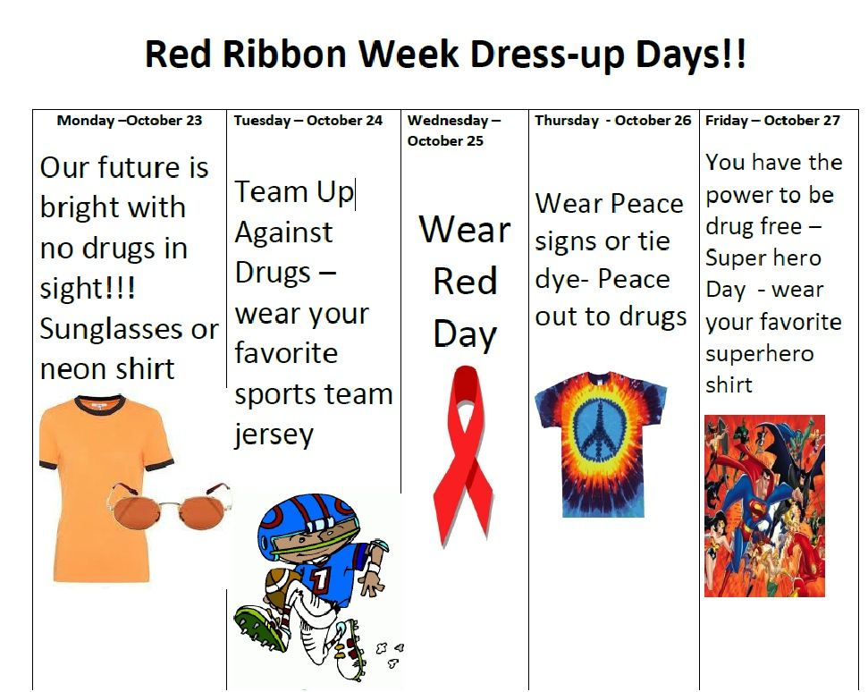 Red Ribbon Week 17
