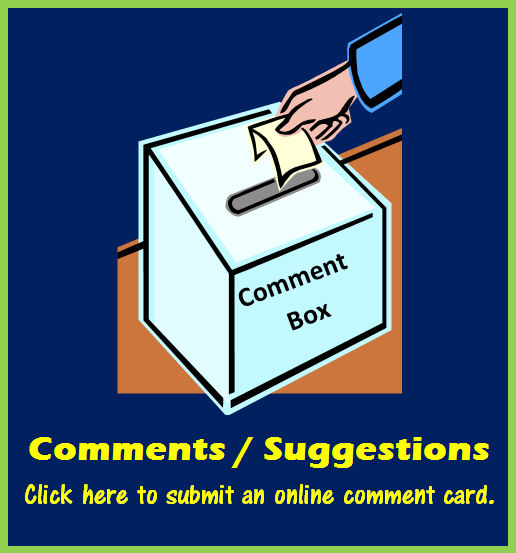 Online Comment Card