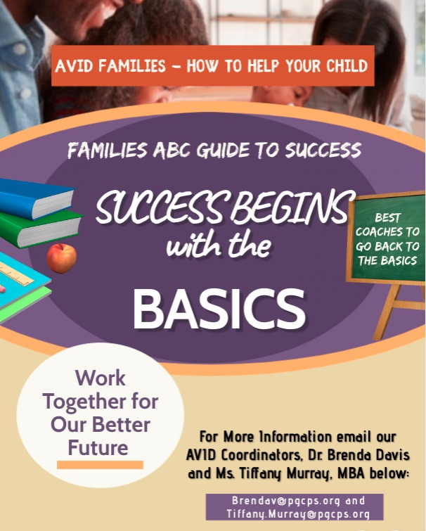 AVID Families How to Help Your Child at Home